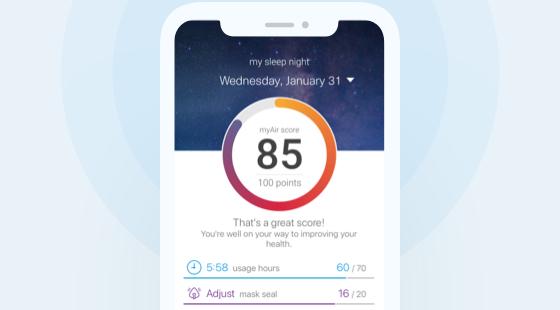 sleep-apnea-products-list-myAir-app